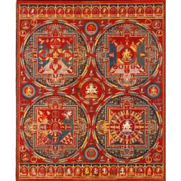 珍貴唐卡_14世紀唐卡